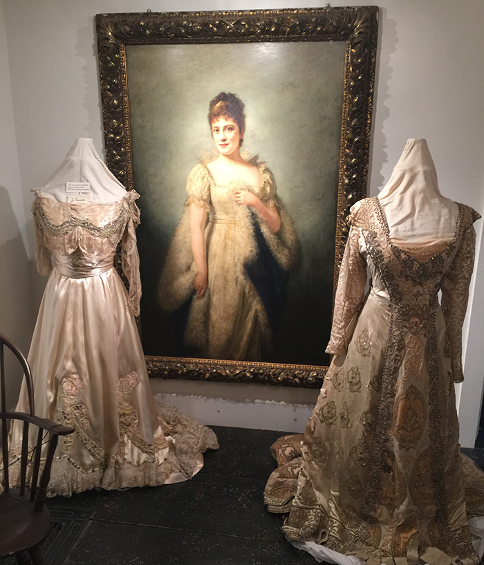 Lillian Nordica portrait and gowns
