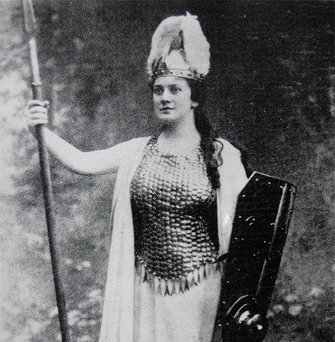 Lillian as Brunnhilde